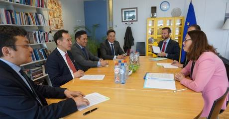 THE EUROPEAN UNION AND MONGOLIA HELD THEIR JOINT COMMITTEE 18TH MEETING IN BRUSSELS.