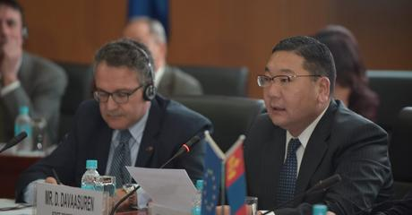Launch Event of EU-TRAM Project (Trade Related Assistance for Mongolia)