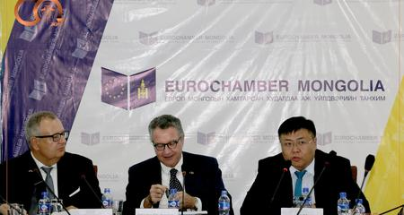 Presentation of study on Export financing for Mongolian SMEs took place.