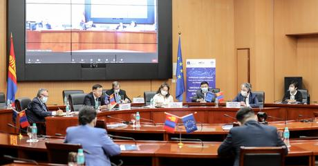 TRADE RELATED ASSISTANCE FOR MONGOLIA PROJECT STEERING COMMITTEE  MEETING ORGANIZED