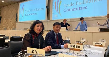 WTO Trade Facilitation Committee Meeting (Participation of Mongolian Customs Office - Oct 2019)